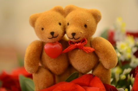 Bears Love Cute Heart Valentine's Day Bear Sweet